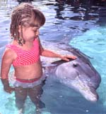 Kids Love the Dolphins at Underwater Explorers Society